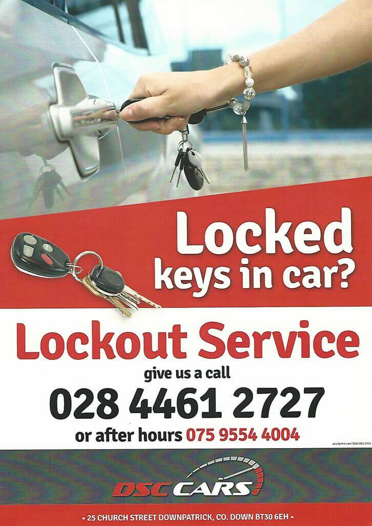 Locked keys in car?